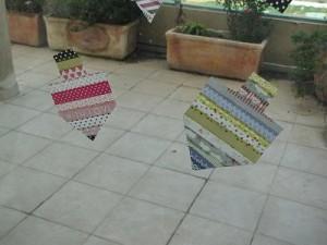 מדבקות washi tape בצורת סביבונים