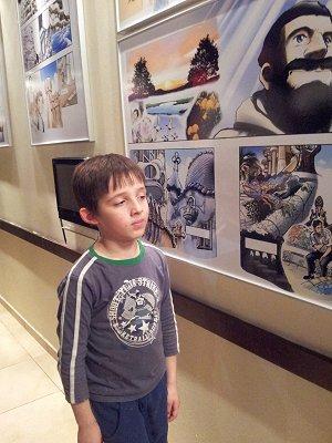 אייל בוחן קומיקס יפני על גאודי