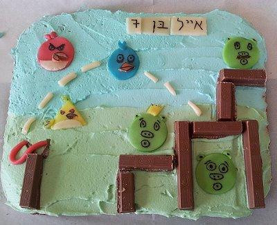 עוגת אנגרי בירדז