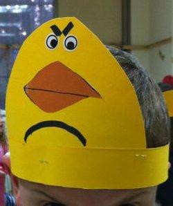 כתר ציפור צהובה