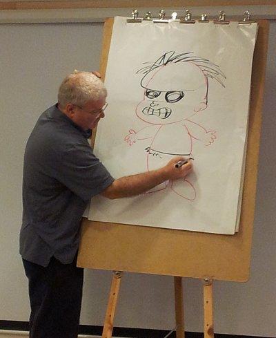אורי מצייר את הענק הירוק