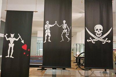 מסתבר שלדגל הפיראטים יש כמה גרסאות