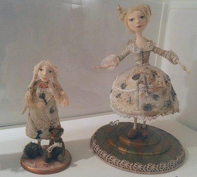 בובות מהתערוכה
