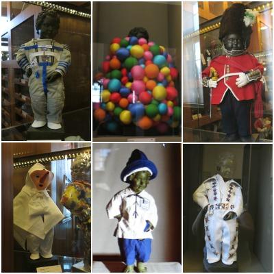 כמה מהתלבושות של הילד המשתין