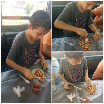 אייל בסדנת פיצה